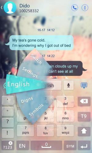 GO Keyboard - Emoji, Emoticons 2.30 Screen 6