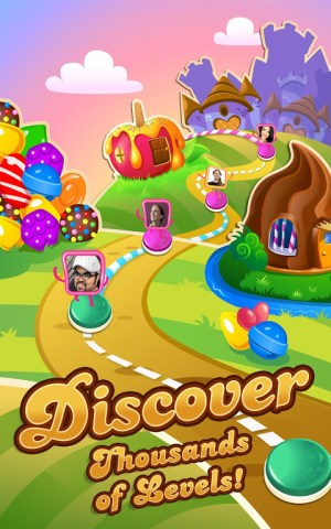 Candy Crush Saga 1.187.1.1 Screen 1