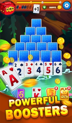 Solitaire Tripeaks Adventure - Free Card Journey 1.2.3 Screen 3