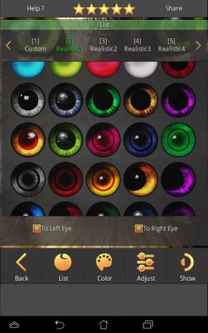 Change your hair, change your eyes, change your style, change your life 1.3.7 Screen 6
