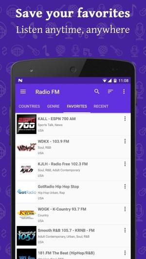 Radio FM Online 13.3 Screen 2