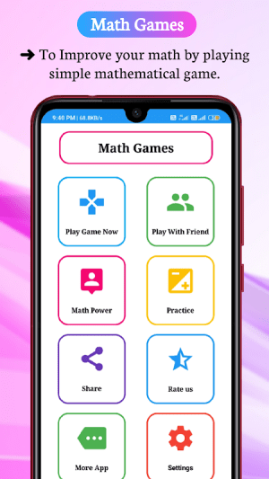 Math Games, Learn Plus, Minus, Multiply & Division 6.6.0 Screen 5