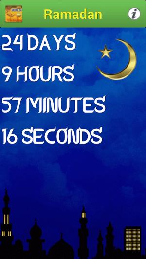 Ramadan 2018 Countdown 2.5 Screen 2