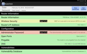 RouterCheck 0.9.22 Screen 6