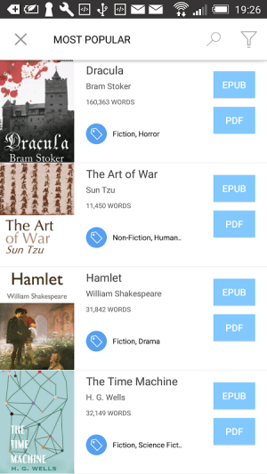 Bookari Ebook Reader Premium 4.2.4 Screen 14