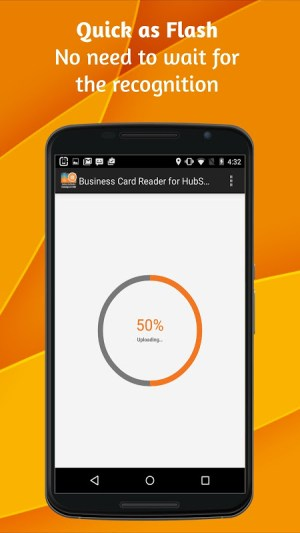 Android Business Card Reader for HubSpot CRM Screen 5
