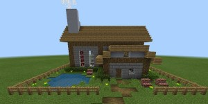 Customizable Command Block House for Minecraft 1.0 Screen 1