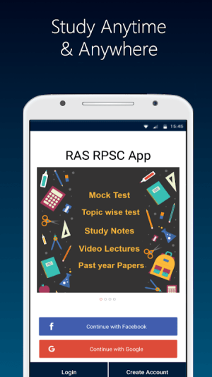 RPSC App 2019: Rajasthan RAS Preparation Guide, GS 2.1.6_rpsc Screen 5