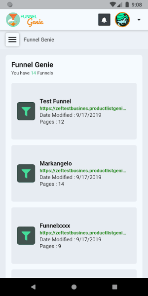 Product List Genie 2.4.2 Screen 1