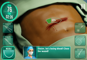 Operate Now: Hospital 1.12.2 Screen 2