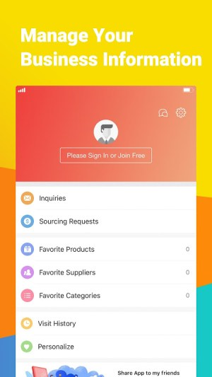 Made-in-China.com - Online B2B Trade App for Buyer 4.10.01 Screen 1