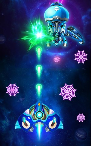 Space shooter - Galaxy attack - Galaxy shooter 1.407c Screen 1