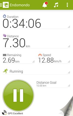 Endomondo Sports Tracker PRO 10.7.1 Screen 8