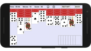 Android Spider Solitaire Screen 5