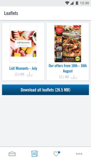 Lidl - Offers & Leaflets 4.3.2(#48) Screen 1