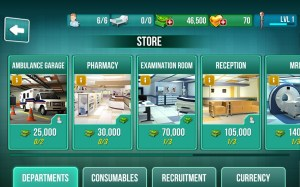Operate Now: Hospital 1.17.6 Screen 1