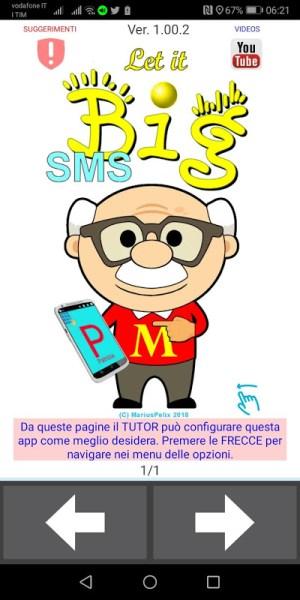 BIG, EASY SMS for senior 2.00.3 Screen 3