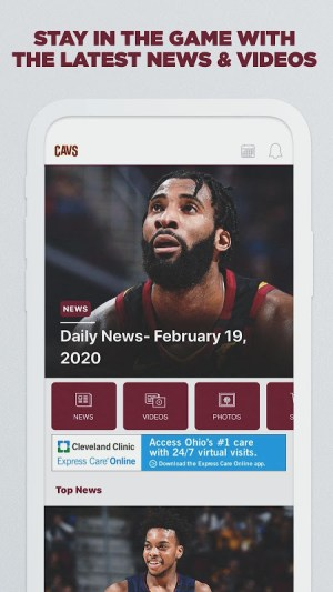 Cleveland Cavaliers 3.5.4 Screen 2