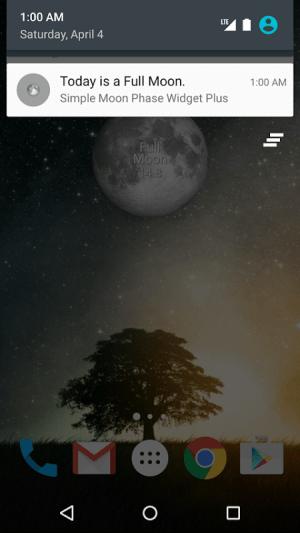 Simple Moon Phase Widget Plus 1.3.3 Screen 6