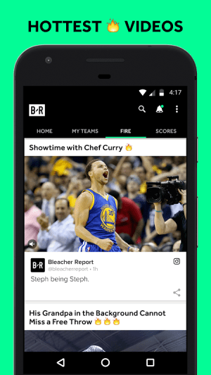 Bleacher Report 5.2.0 Screen 8