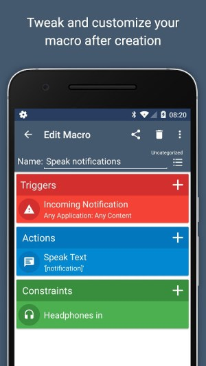 MacroDroid - Device Automation 4.9.6.1 Screen 4