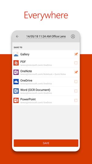 Microsoft Office Lens - PDF Scanner 16.0.13127.20392 Screen 4