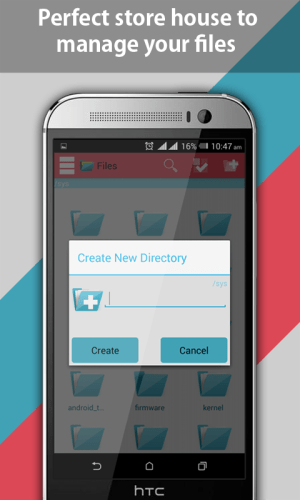 Android File Explorer and File Manager Screen 21