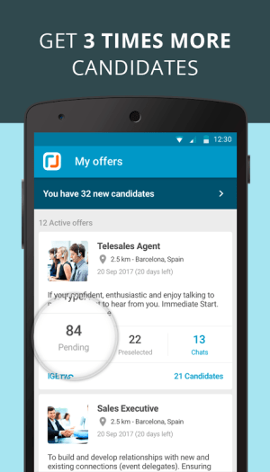 CornerJob - Job offers, Recruitment, Job Search 1.5 Screen 6