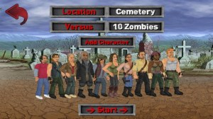 Android Extra Lives (Zombie Survival Sim) Screen 1