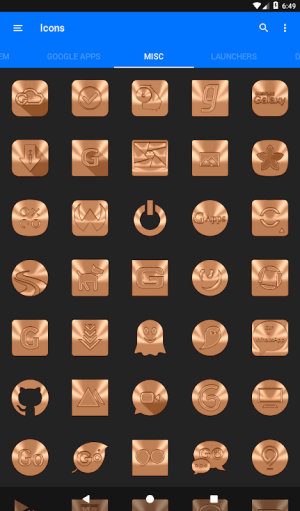 Android Sepia Icon Pack ✨Free✨ Screen 16