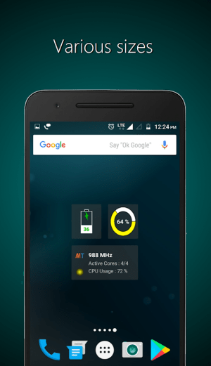 Widgets - CPU | RAM | Battery 3.0.3 Screen 5