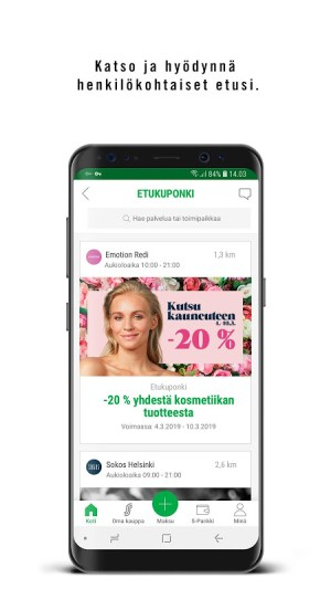 S-mobiili 2.5.0 Screen 5