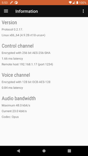 Android WiMic Screen 19