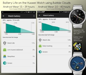 Bubble Cloud Tile Launcher Watchface (WearOS) 9.70 Screen 19