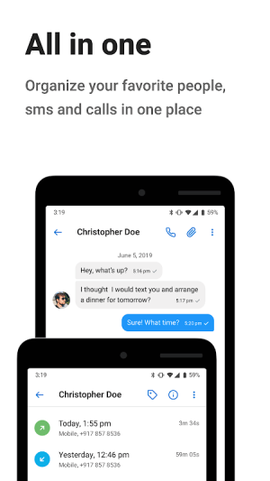 Android Contacts+ Screen 6
