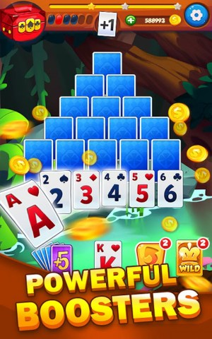 Solitaire Tripeaks Adventure - Free Card Journey 1.2.3 Screen 14