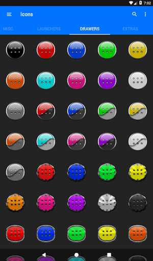 Light Blue Icon Pack Free 3.9 Screen 7