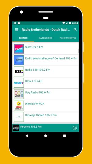 Android Radio Netherlands - Radio Netherlands FM: Radio NL Screen 3