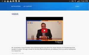 Android UTI Buddy Screen 3