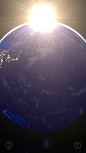 3D Earth & Real Moon. Live Wallpaper. 1.1.0 Screen 4