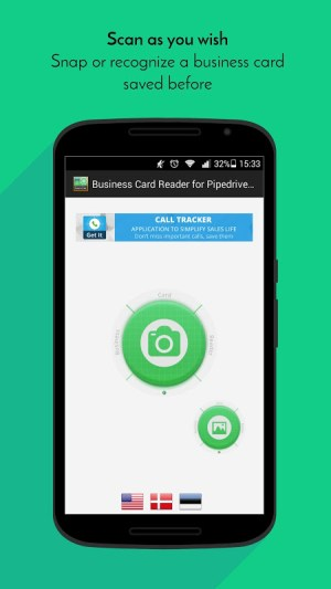 Business Card Reader for Pipedrive CRM 1.1.146c Screen 3