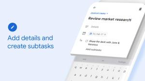 Google Tasks: Any Task, Any Goal. Get Things Done 2019.12.289848040.release Screen 1