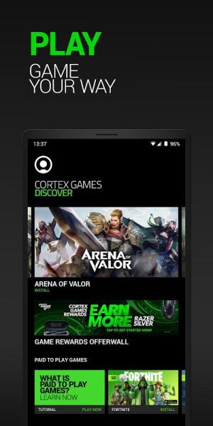 Android Razer Cortex Games Screen 3
