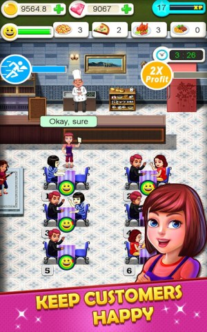 Android Restaurant Tycoon : cooking game❤️🍕⏰ Screen 1
