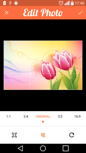 Android Compress Image , Resize and Crop Screen 3