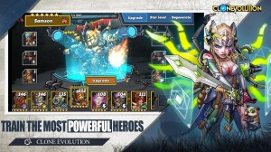 Clone Evolution: RPG Battle-Future Fight Fantasy 1.4.7 Screen 7