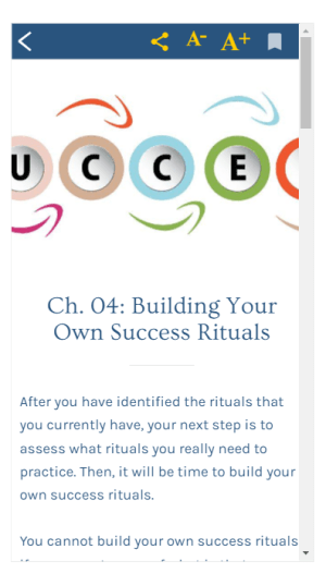 Success Rituals 1.0 Screen 5