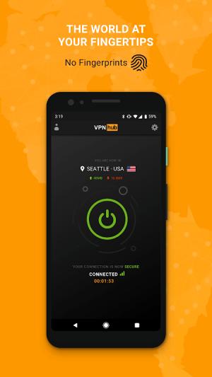 VPNhub Best Free Unlimited VPN - Secure WiFi Proxy 2.10.11-mobile Screen 1