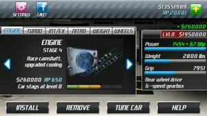 Android Drag Racing Screen 4