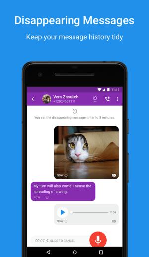 Signal Private Messenger 4.43.8 Screen 1
